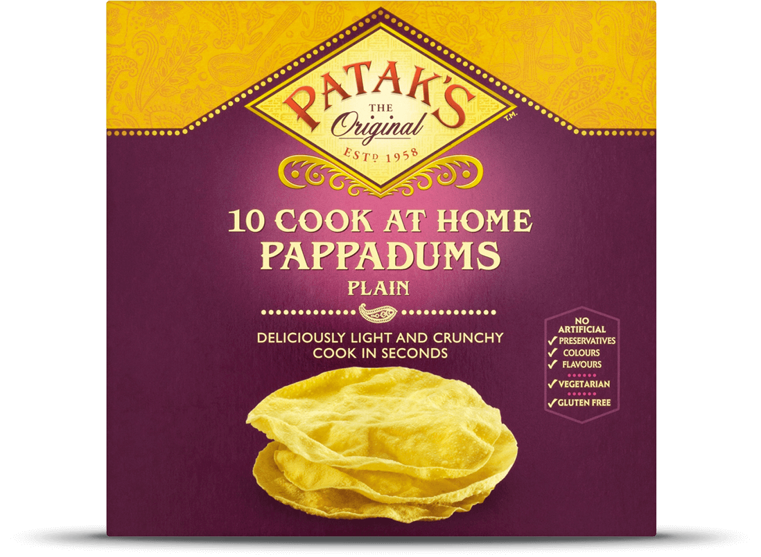 Plain Pappadums Cook to Eat