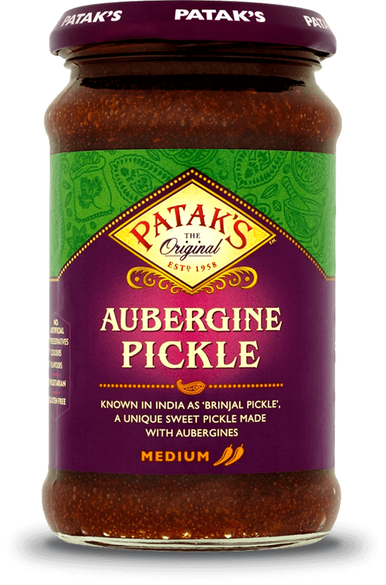 Aubergine Pickle