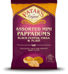 Mini Pappadums - Assorted