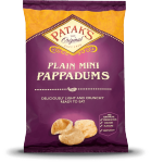 Mini Pappadums - Plain