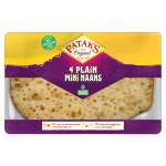 Mini Plain Naans