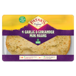 Mini Garlic & Coriander Naans