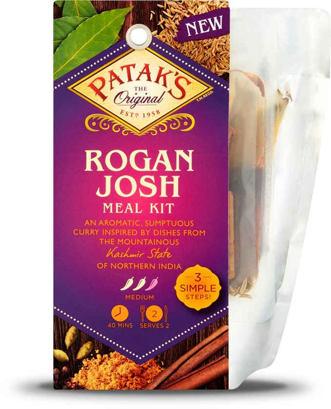 Rogan Josh 3 Step Kit